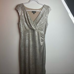 BNWOT Connected Apparel Long gown women's size 8